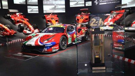 Ferrari, al via la mostra sui 70 anni di successi a Le Mans