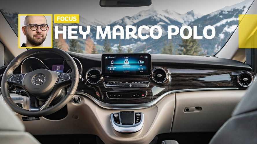 Mercedes Marco Polo e MBUX per viaggiare in compagnia