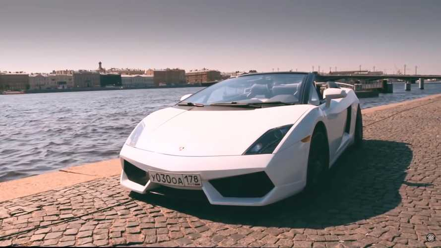 Amazing Lambo Gallardo replica used to be a Mitsubishi Eclipse