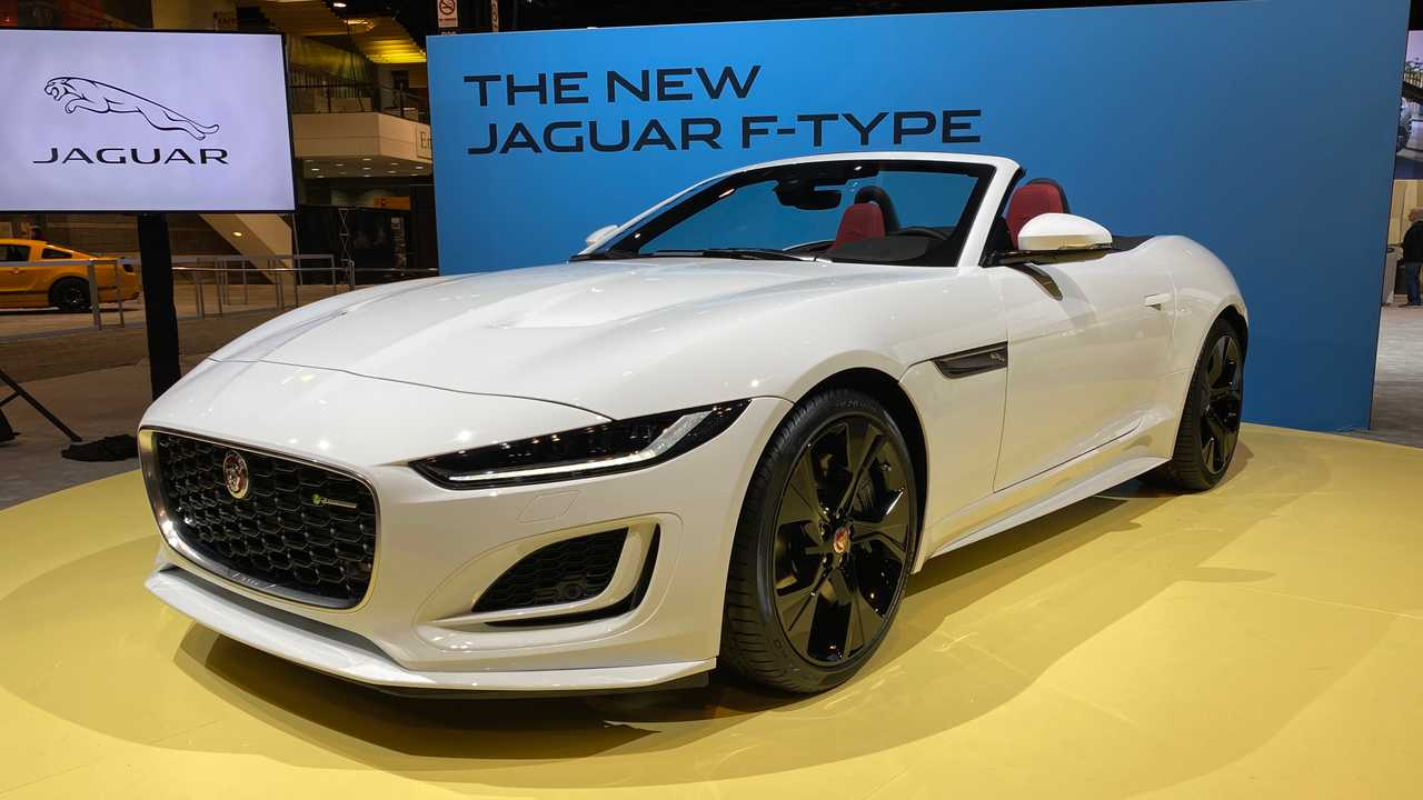2021 Jaguar F-Type Priced From $61,600, R-Dynamic Drops $5,500