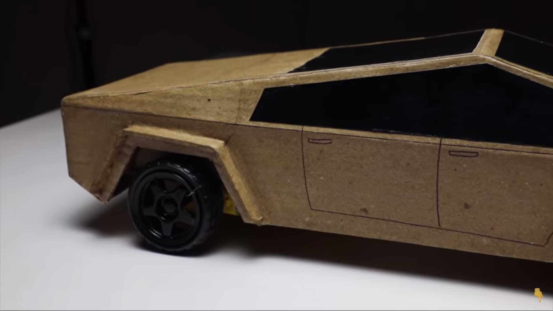 Grab Some Cardboard And Make Your Own Tesla Cybertruck ...