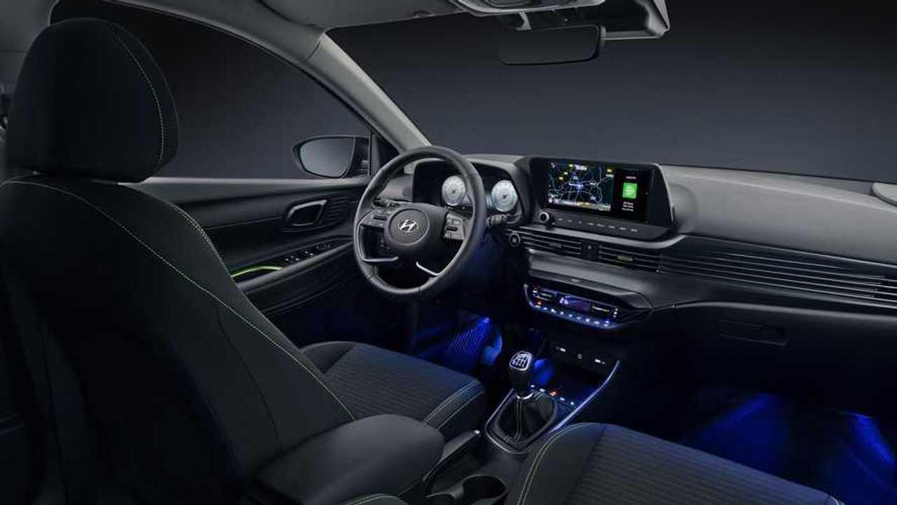 2020 Hyundai i20 İç Mekan Görüntüleri