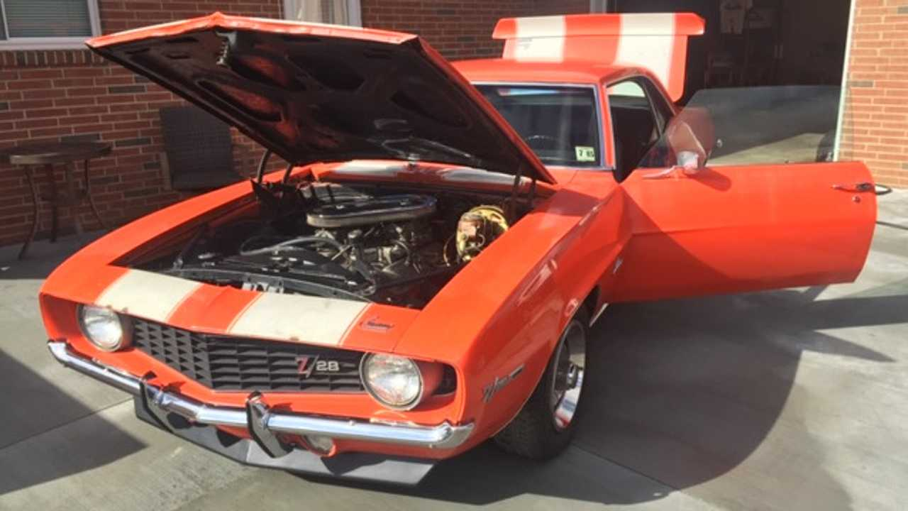 Unrestored 1969 Chevy Camaro Z28 Up For Grabs
