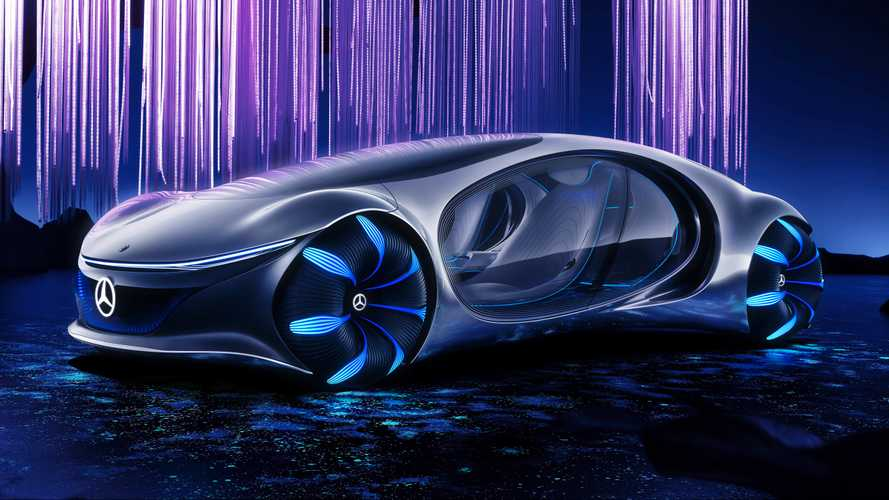 Mercedes-Benz Vision AVTR Is a Daring, Futuristic Rolling Movie Promo
