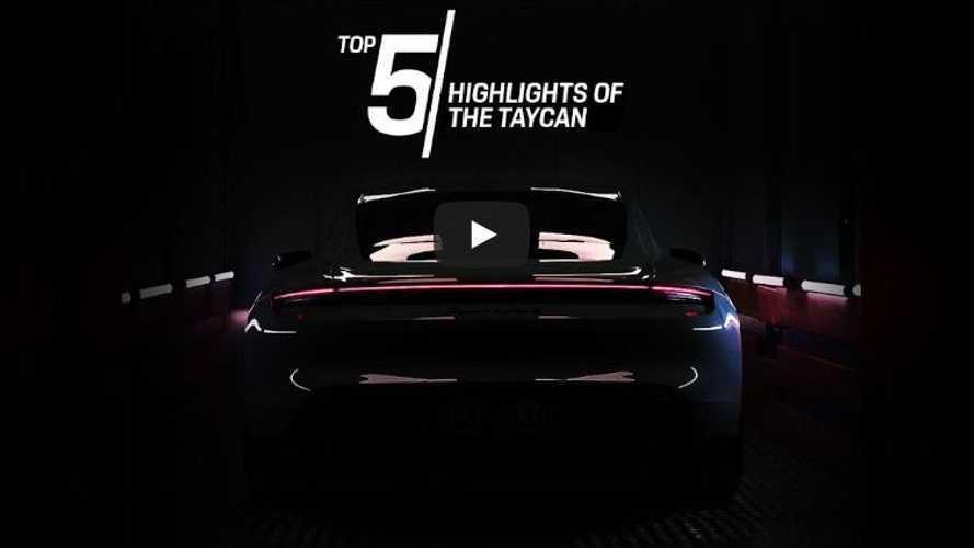 VIDÉO - Tout ce que vous devez savoir sur la Porsche Taycan