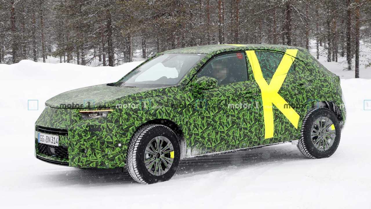 Yeni Opel Mokka ilk casus fotoğraf