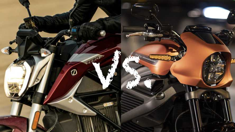 Spec Showdown: Zero SR/F Vs. Harley-Davidson LiveWire