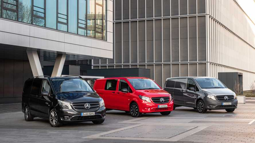 'Evolved' Mercedes-Benz Vito goes on sale in the UK