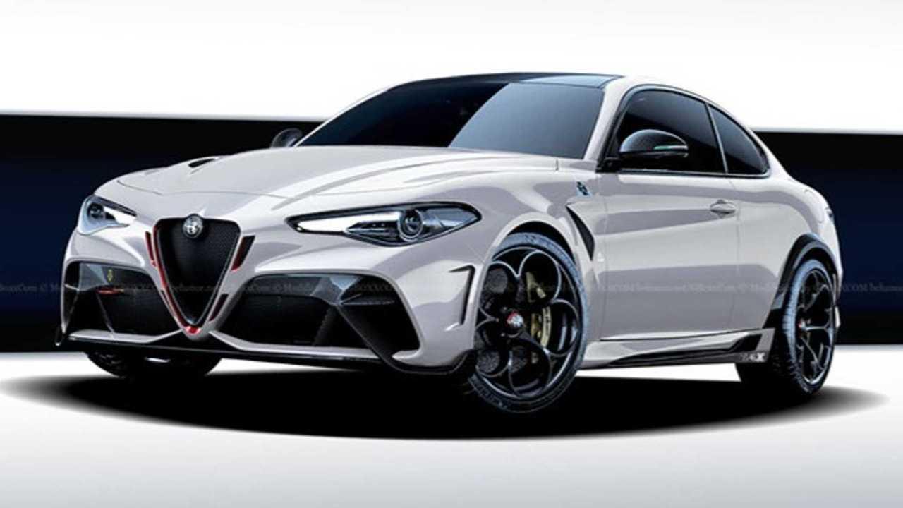 Alfa Romeo Giulia GTA Coupe rendering