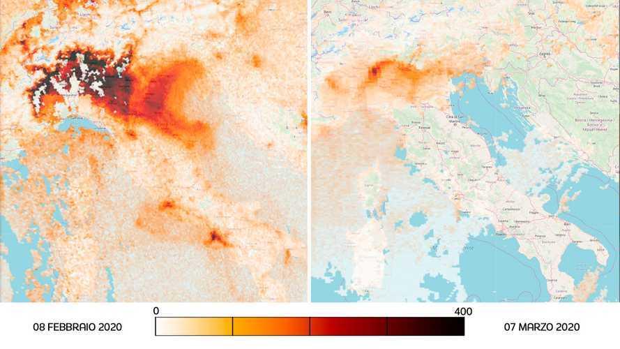 Coronavirus: cala l'inquinamento in Italia, ma attenzione ai dati