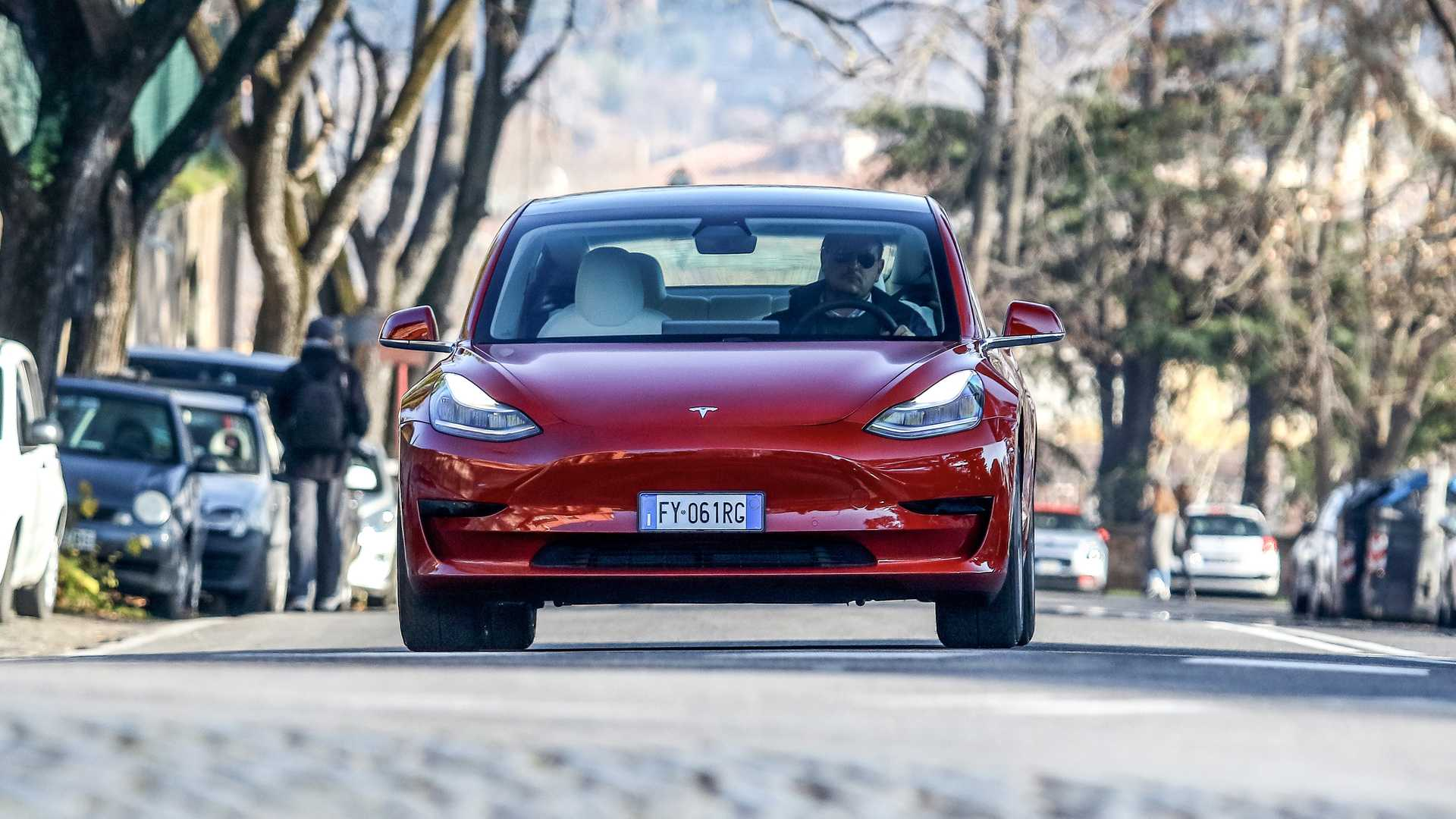 Our electric, Tesla Model 3
