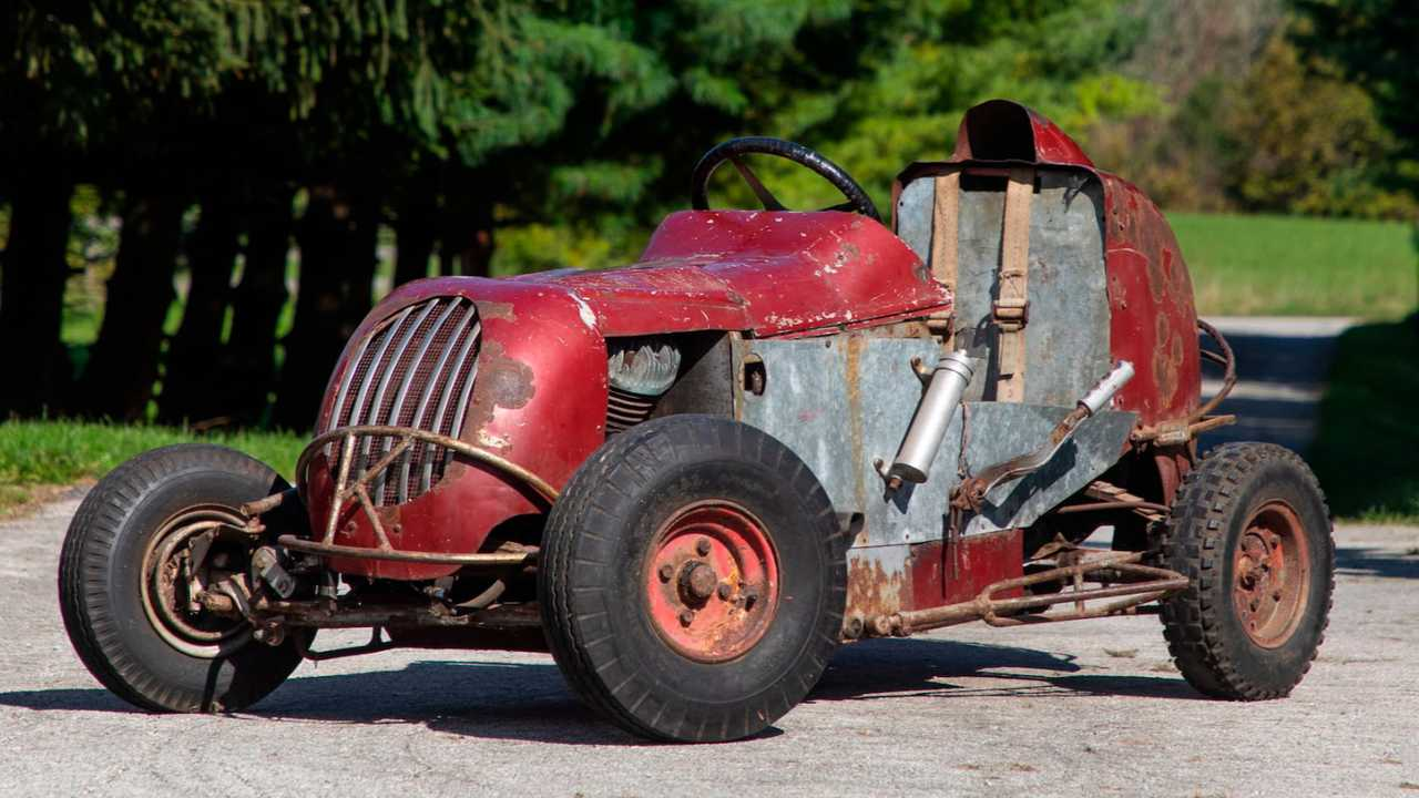 1949 Harley-Engined Midget Car