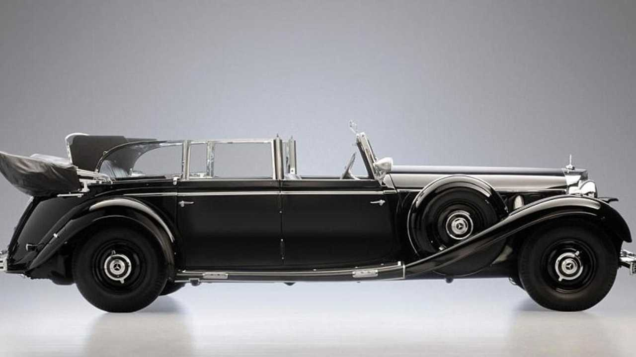 Adolf Hitler's armoured 1939 Mercedes to be auctioned