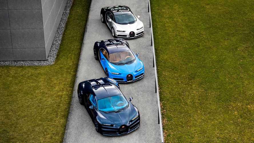 Bugatti Chiron em final de linha
