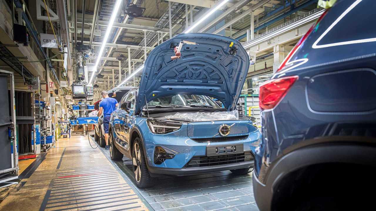 Volvo C40: Serienproduktion in Gent hat begonnen