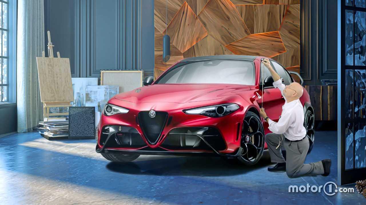 Alfa Romeo produzione on demand