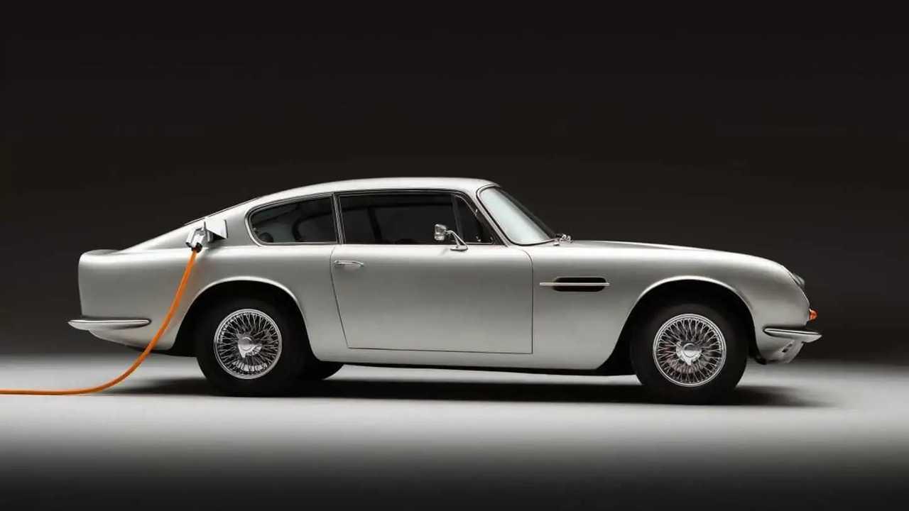 Aston Martin DB6 EV Conversion by Lunaz