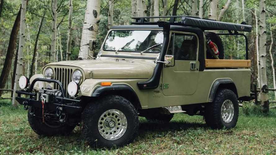 Ball and Buck Jeep CJ-8 Scrambler ARB Overland Edition