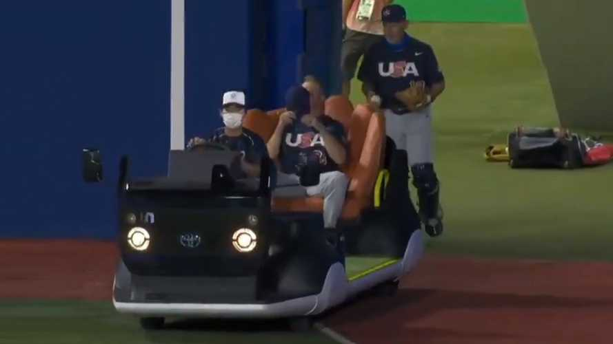 Toyota's Baseball-Themed EV For Olympics Is Perfect For Major League