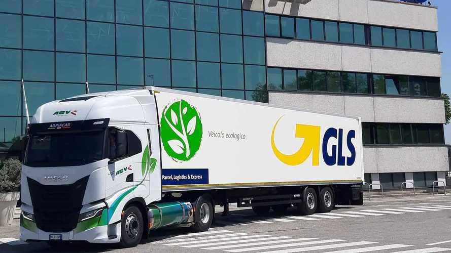 """GLS diventa """"green"""" grazie ai nuovi Iveco S-WAY LNG e Bio-LNG"""
