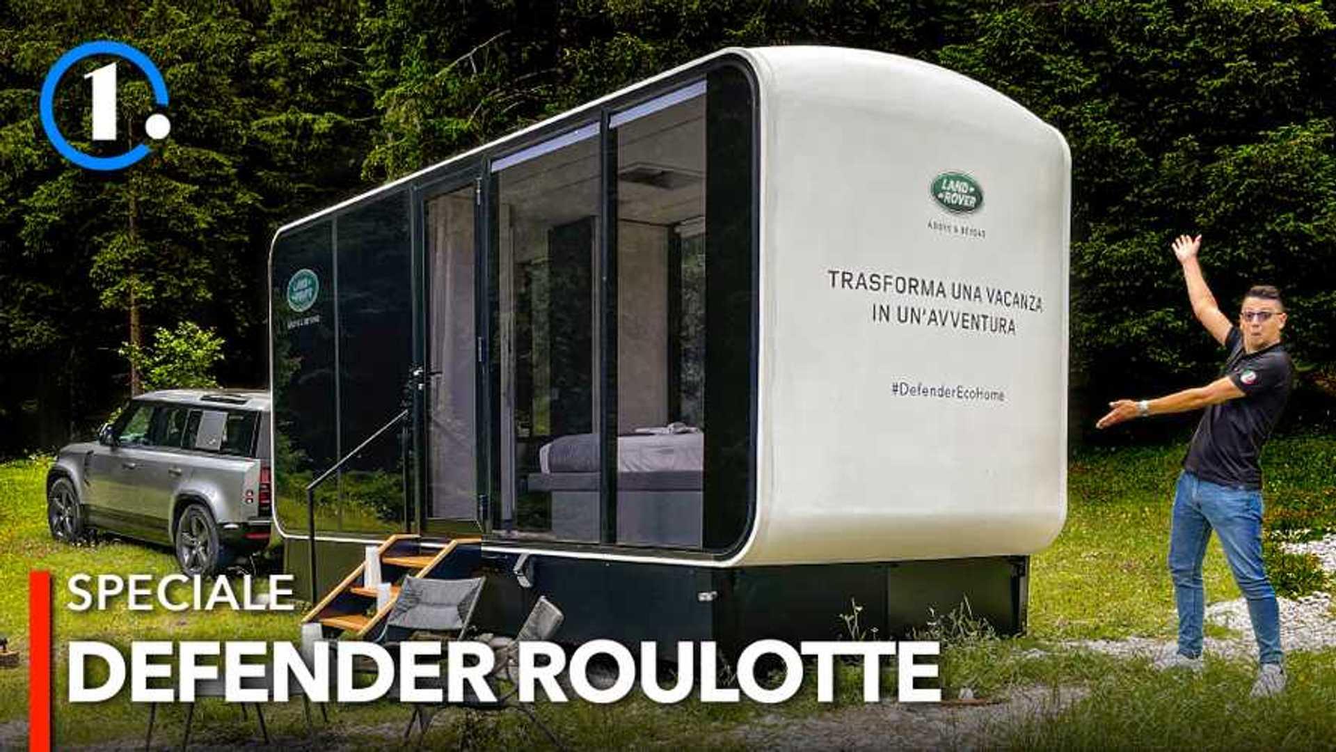Ecco com'è vivere nella roulotte super lusso firmata Land Rover