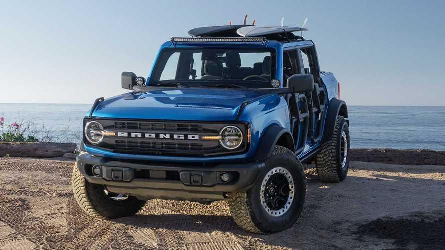 Ford Bronco Riptide Concept, la proposta per i surfisti