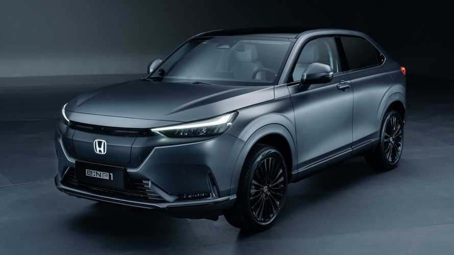 All-Electric Honda HR-V With 310-Mile Range Breaks Cover In China