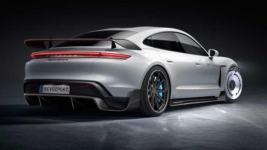 Porsche Taycan Revoluzione and GTZ by RevoZport