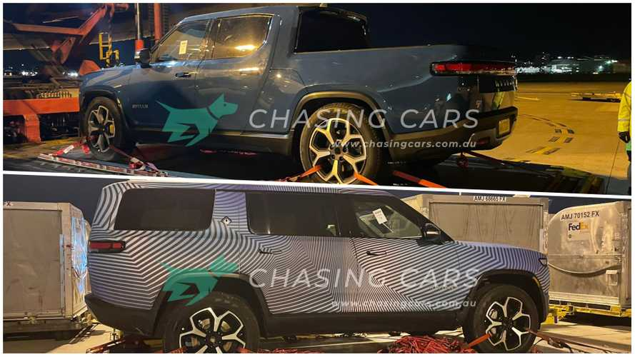 Rivian R1T And R1S Spotted In Australia, Why Are They There?