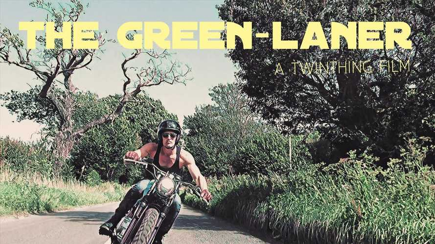 Watch A Custom Honda CB400SS Show You What Greenlaning Is All About