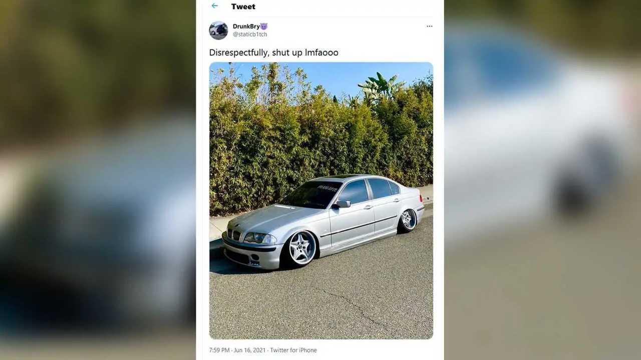 Modifiyeli BMW