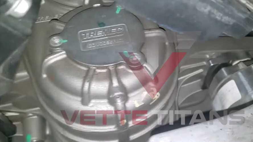 Spy Video Hints Chevy Corvette Z06 C8 Has Magnesium Transmission Case
