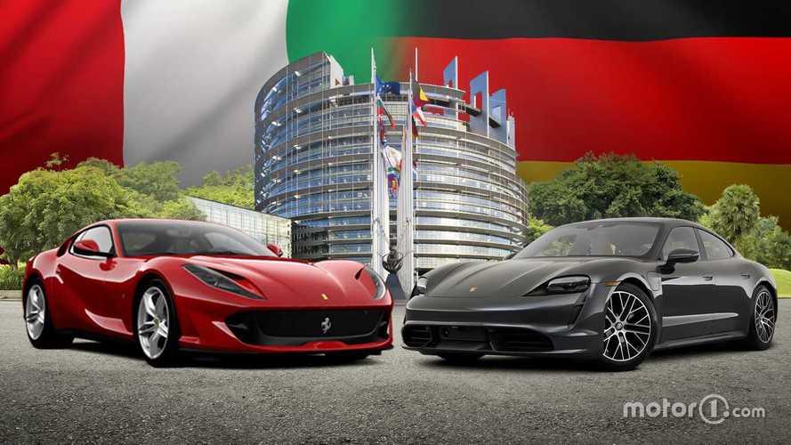 Aspro scontro Italia-Germania sulle supercar: l'attacco di Porsche