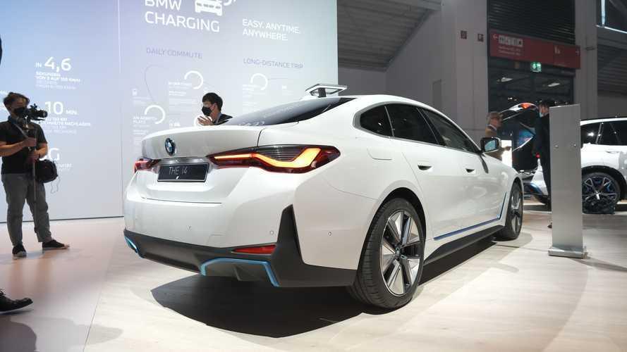 BMW i4 at IAA 2021