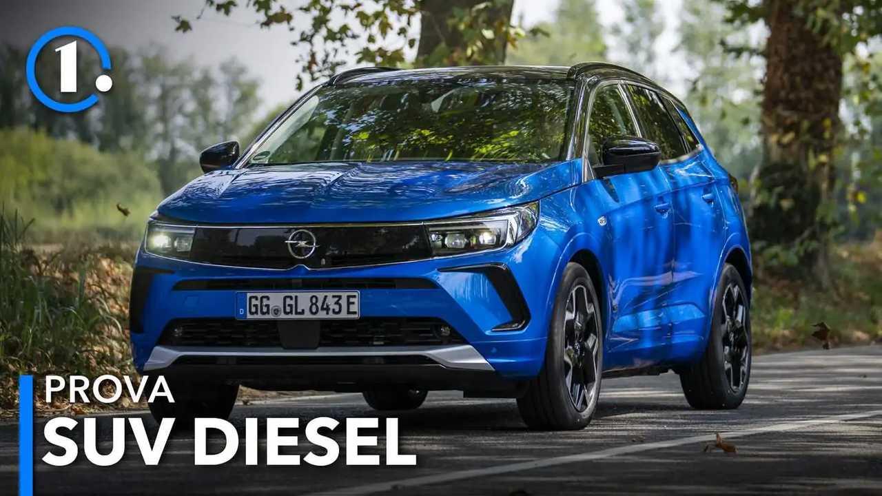 Opel Grandland prova