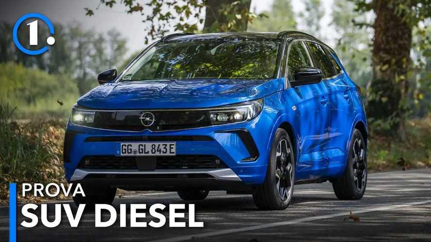 Opel Grandland restyling, la prova del SUV col diesel da 130 CV