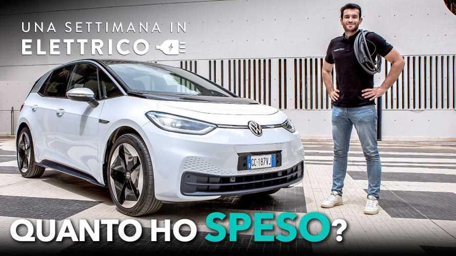 Quanto costa una settimana in elettrico con la Volkswagen ID.3