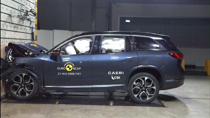 SUV elétrico chinês recebe nota máxima em segurança no Euro NCAP