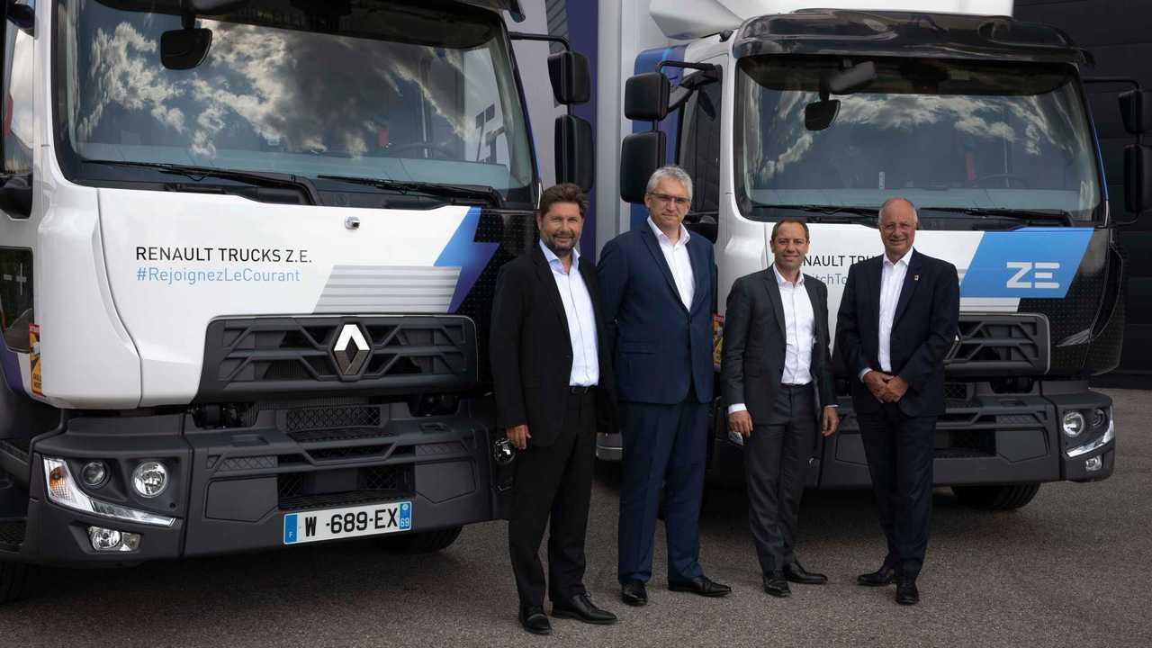 Renault Trucks, venti D Z.E. elettrici acquistati da Urby