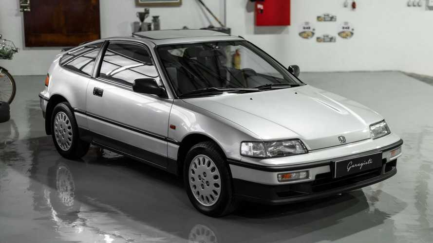 10-Mile Honda CR-X In Perfect Condition Comes Up For Sale