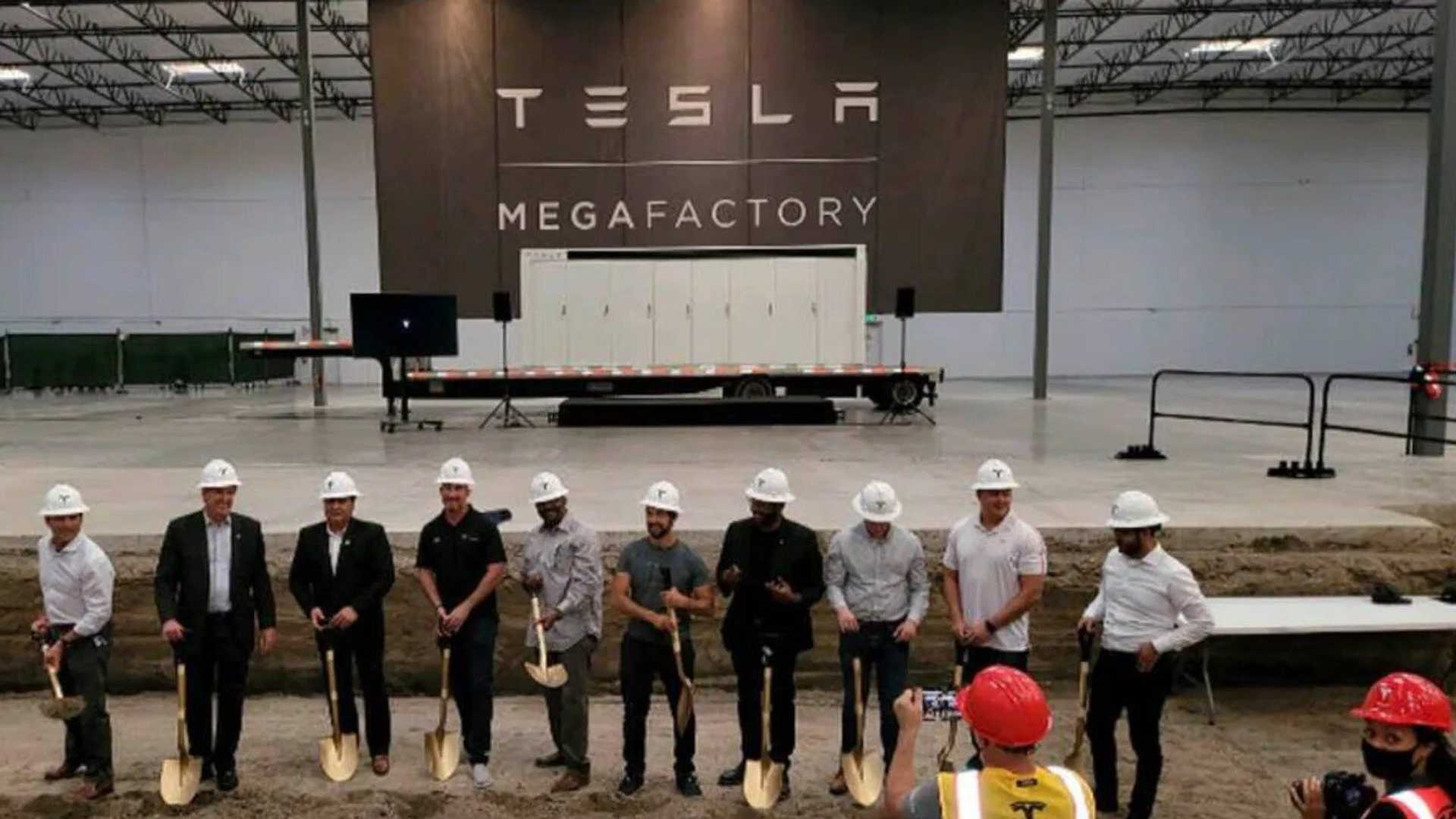 Tesla has broken ground on a new factory located in Lathrop, California. The facility will exclusively produce Megapacks - Tesla's largest battery u