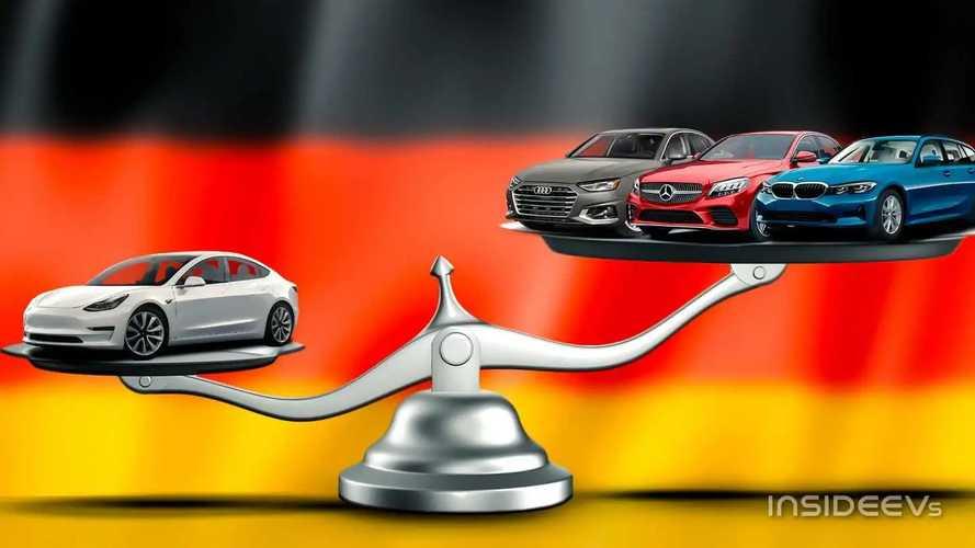 La Tesla Model 3 surclasse les premiums allemands (en Allemagne)