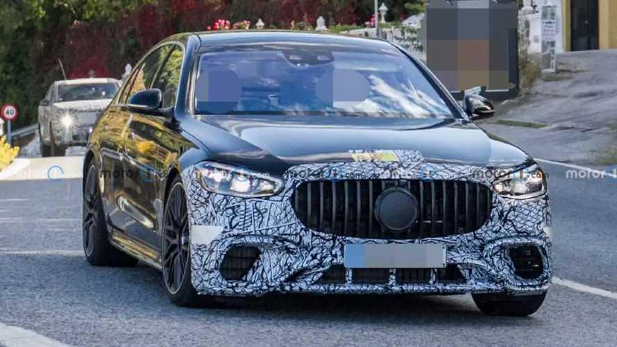 AMG-версия Mercedes-Benz S-класса выглядит готовой к дебюту