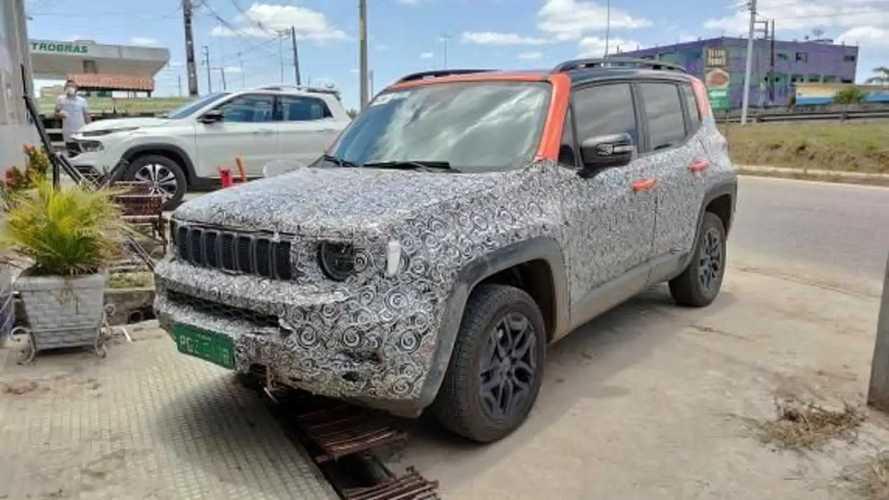 Flagra: Jeep Renegade 2023 começa a mostrar novo visual