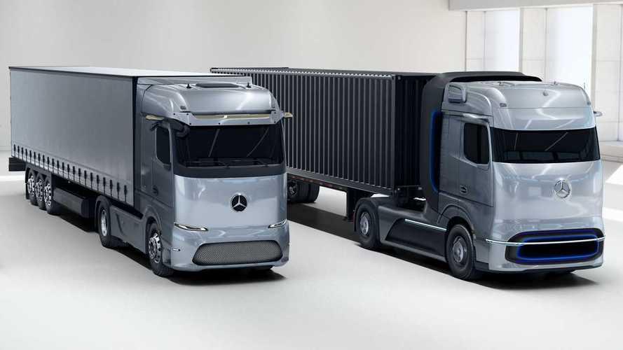 Mercedes Trucks a Ecomondo, futuro tra elettrico e idrogeno