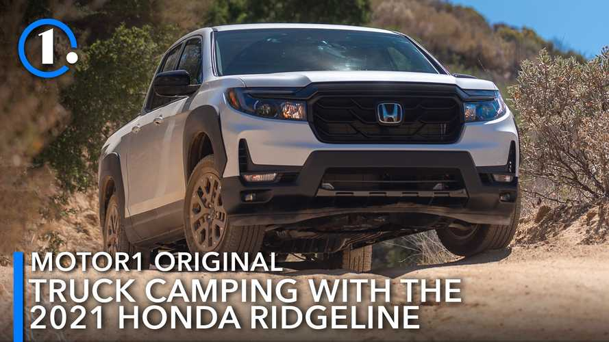 2021 Honda Ridgeline Camping Test: Great Truck For The Great Outdoors