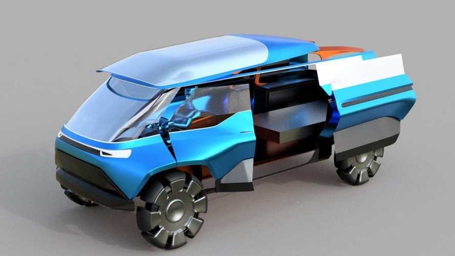 VW And Art Students Imagine Future Long-Distance Mobility Concepts