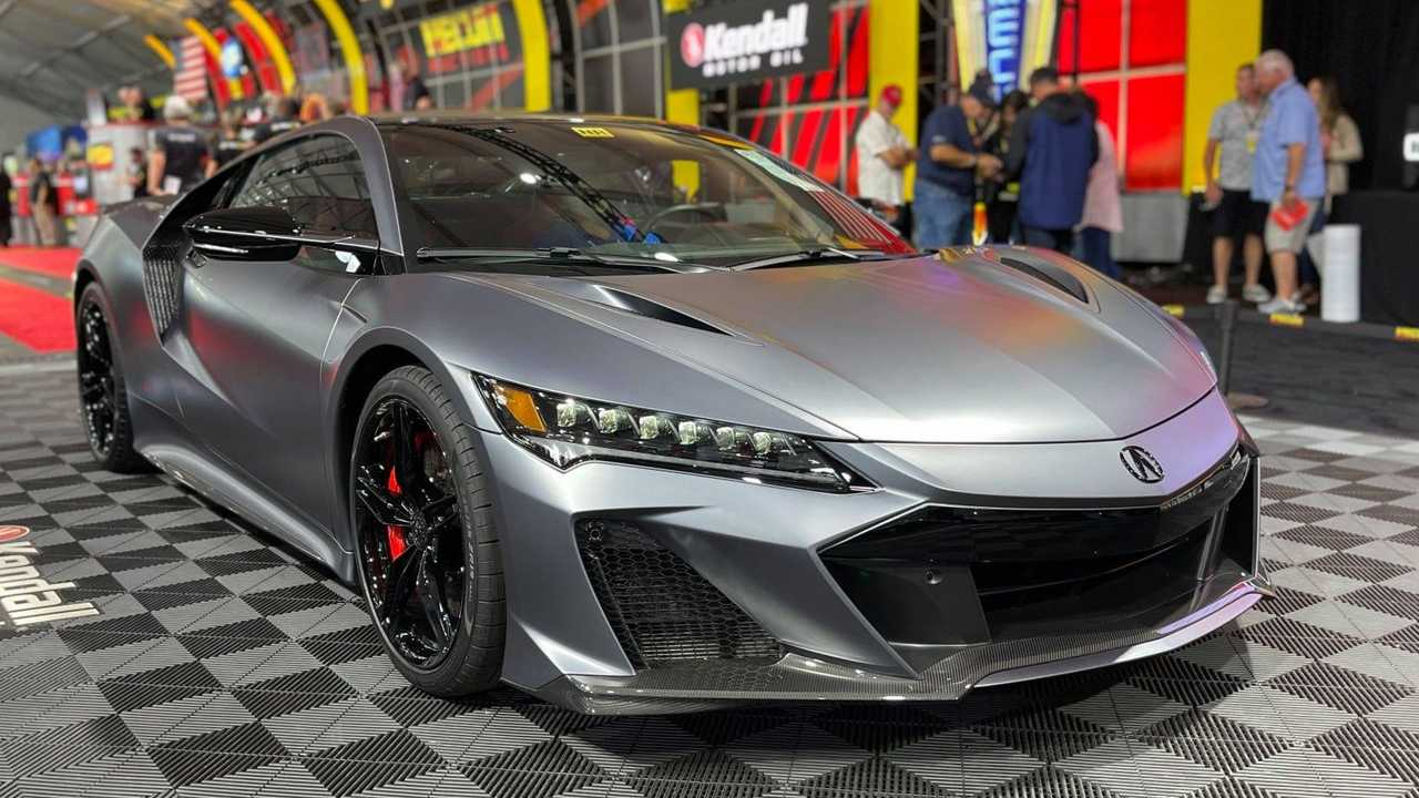 First 2022 Acura NSX Type S