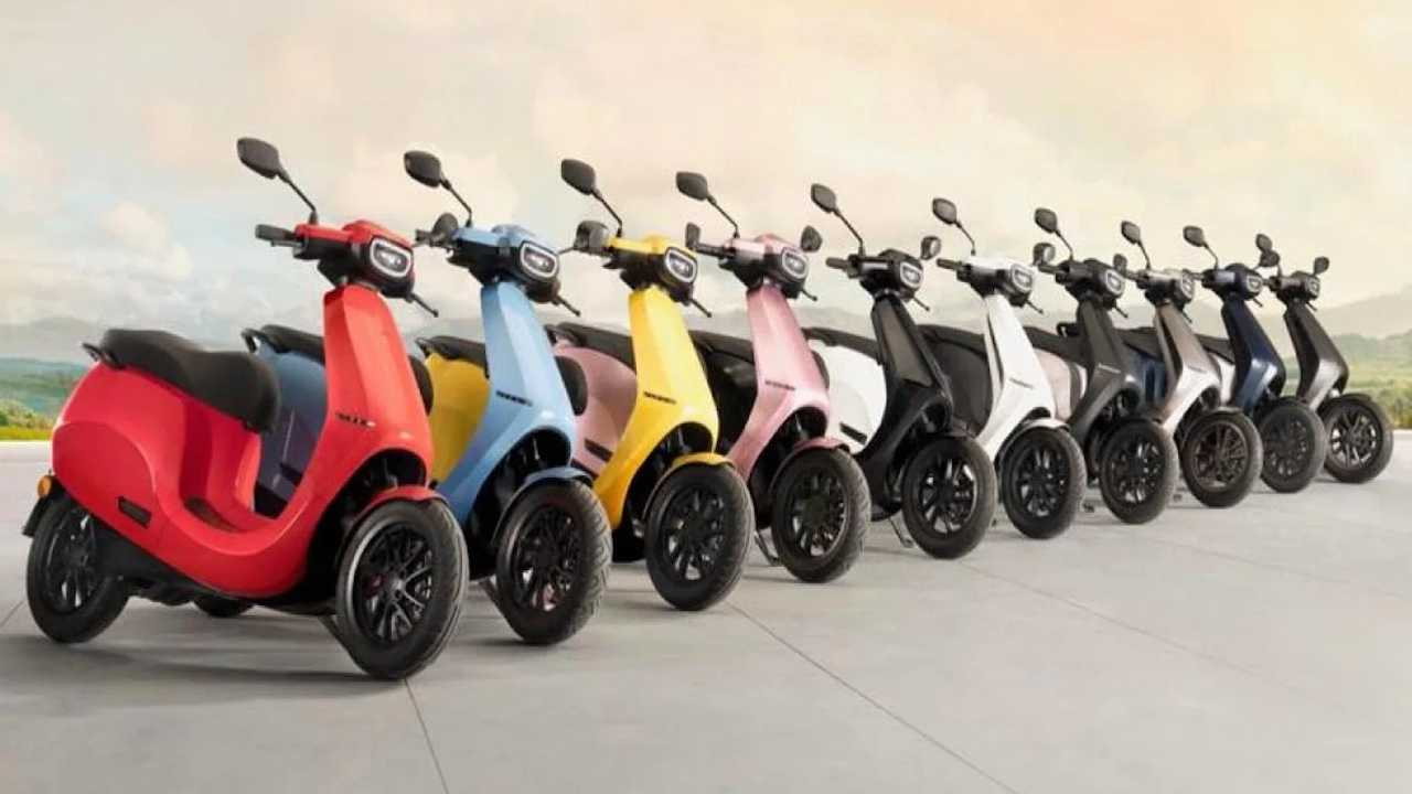 Ola Electric To Launch New Scooter With Ten Color Options