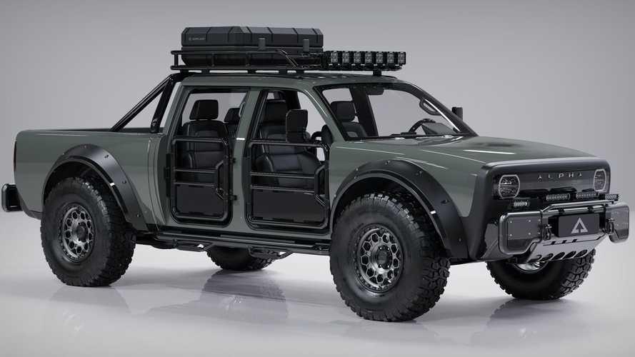 Alpha Motor, Superwolf adlı elektrikli pick-up'ını tanıttı